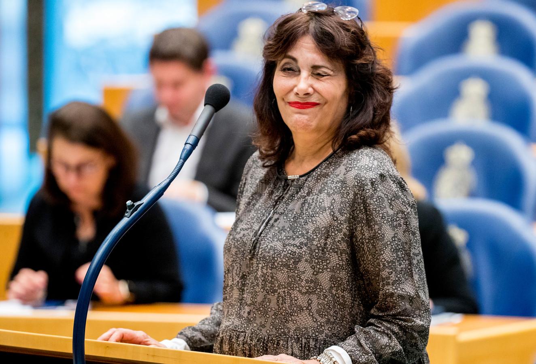 Léonie Sazias keert volgende week donderdag terug in de Tweede Kamer. Het Kamerlid van 50Plus was sinds november afwezig, om behandeld te worden voor kanker.