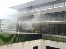 Gebouw Radboud Universiteit ontruimd om brand