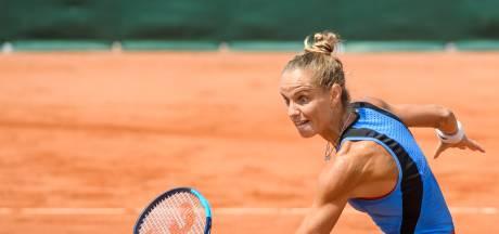 Arantxa Rus verzacht leed van uitschakeling op Wimbledon met eindzege in Den Haag