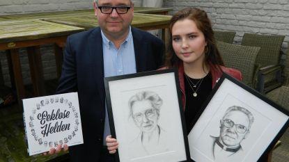Noor (17) tekent 25 Eeklose Helden