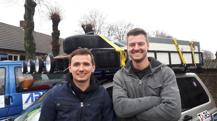 Go for Africa Joey Verheijden en Rick van de Laar