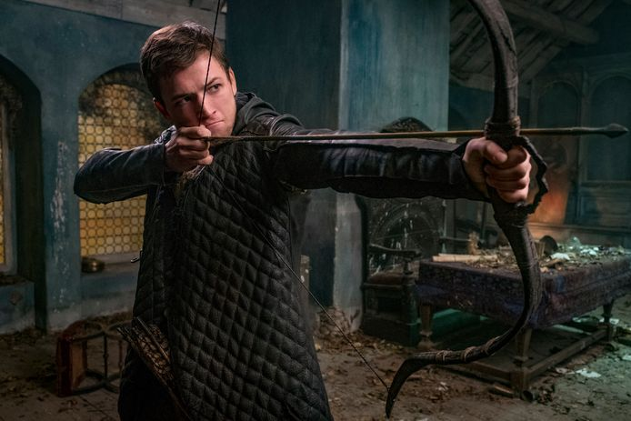 Taron Egerton is de nieuwste Robin Hood.