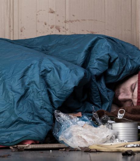Leger des Heils probeert zo veel mogelijk daklozen van de straat te halen