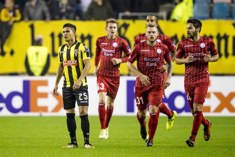 Essevee wint met 0-2 in Arnhem.