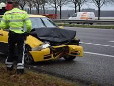 Ongeval op A58 Roosendaal richting Breda zorgt voor flinke file