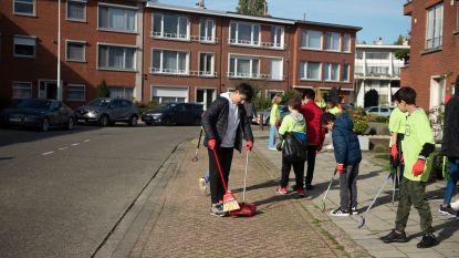 850 leerlingen van zeven scholen verlossen buurt Herentalsebaan van zwerfvuil