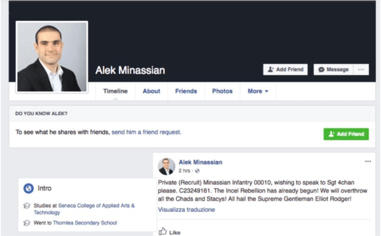 Volgens Facebook is de account authentiek.