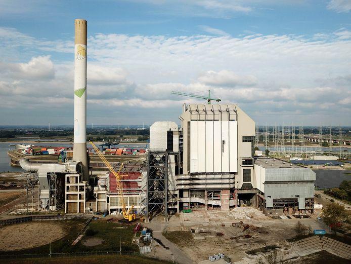 De oude Nijmeegse energiecentrale die gesloopt gaat worden.