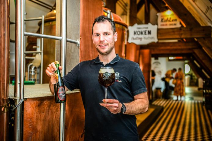 Brugge, nieuw bier bij brouwerij bourgogne des flandres;
