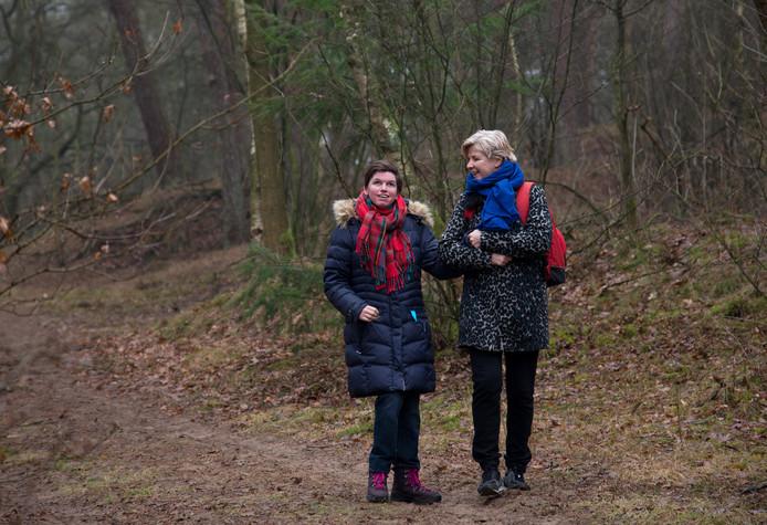 Irma Jannink met haar 28-jarige dochter Jos Sophie.