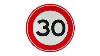 Zone 30 wordt ingevoerd in volledige Parkwijk
