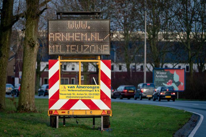 Milieuzone Arnhem is tijdens de zomer enkele weken uitgeschakeld.