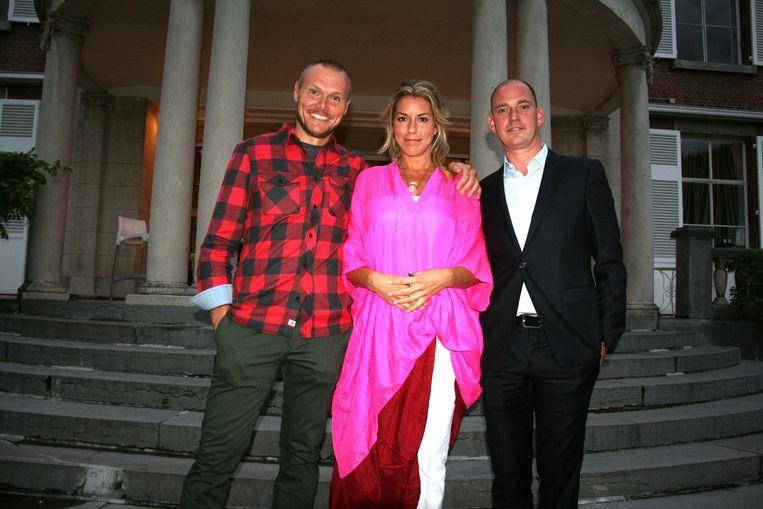 De initiatiefnemers Bart Raevens, Julie Aelens en Jurgen Dirckx