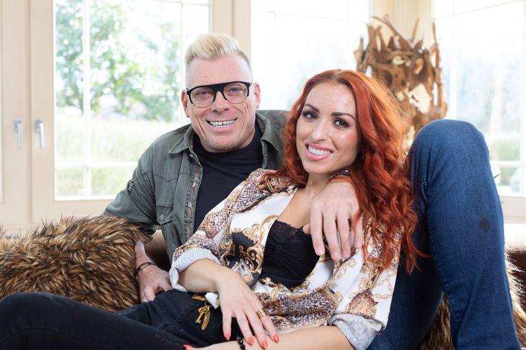 Pat Krimson met zijn partner Loredana