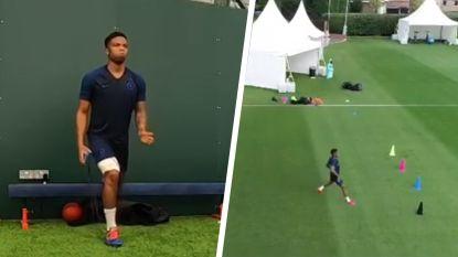 """Dit voelt geweldig"": Charly Musonda Jr. na negen maanden weer op trainingsveld"