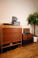 Regula Ysewijn en haar man houden van vintage en oude meubelen.