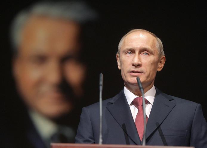 Vladimir Poetin op archiefbeeld