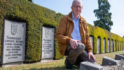 """Voormalig politiecommissaris herdenkt gesneuvelde grootvader: """"Door hem ben ik bij de rijkswacht gegaan"""""""