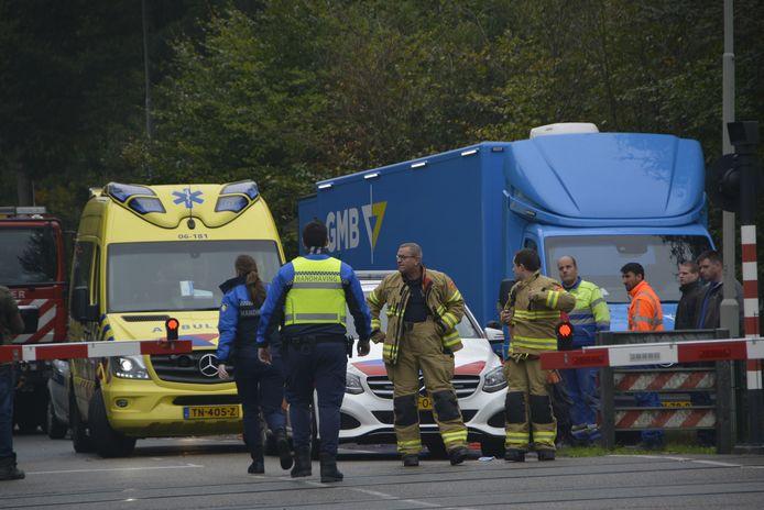 In Ermelo hebben in drie uur tijd twee aanrijdingen plaatsgevonden op het treinspoor.