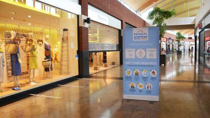 Ninia Shopping Center en stad nemen beschermingsmaatregelen voor heropening winkels maandag