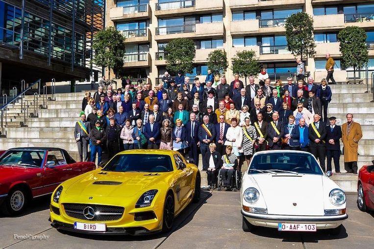 Autoclub Leopard in Koksijde toen het zijn koninklijke titel kreeg