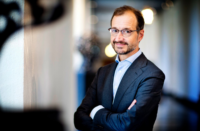 Eric Wiebes (VVD), minister van Economische Zaken en Klimaat.