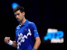 Djokovic écarte Zverev et complète le carré final du Masters de Londres