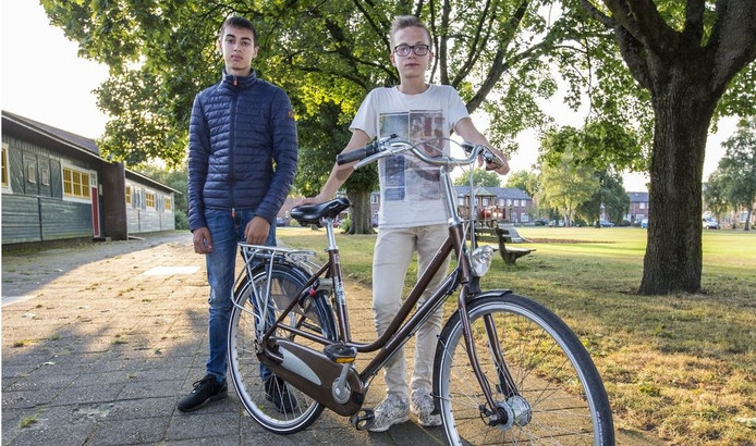 Slachtoffers van de steekpartij Redi van Kampen (15) en Gerrit de Groot (15)