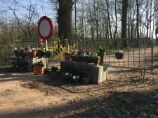 Kleurrijke bloemenpracht bij grensafzetting: 'Een eerbetoon aan zieken en hulpverleners'