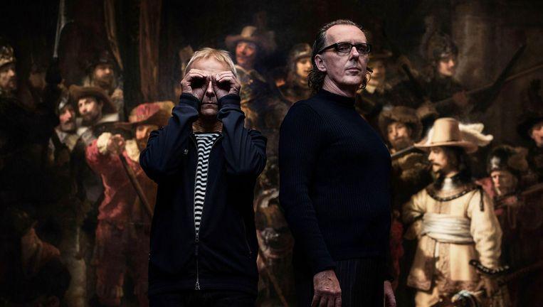 Underworld staat vrijdagavond gratis en voor niets in de tunnel van het Rijksmuseum Beeld Audio Obscura