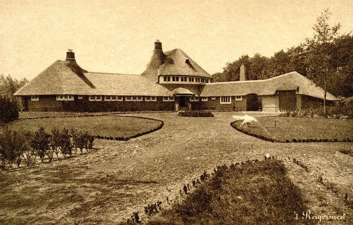 Landhuis 't Reigersnest, omstreeks 1930.