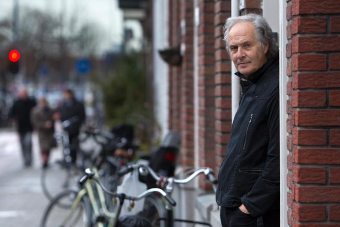 De Rotterdamse auteur Rob van Olm.