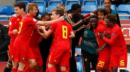 Jonge Duivels naar halve finale EK U17 dankzij deze 'lucky goal'