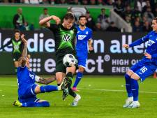 Gelijkspel Wolfsburg ondanks assist Weghorst