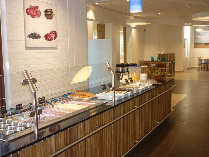 Zo ziet het buffet in Ter Duinen eruit