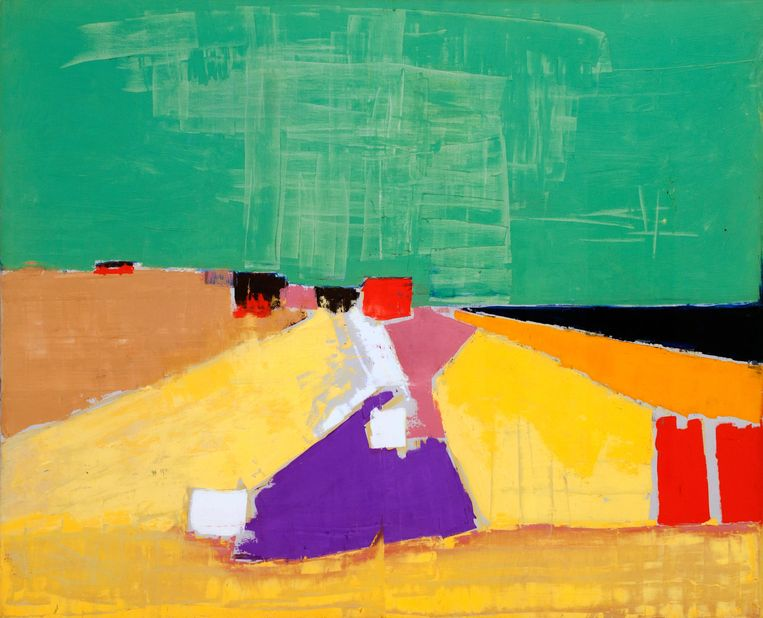 Sicily 1954 by Nicolas de Stael Beeld Alamy Stock Photo