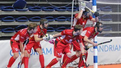 Kwartfinales eindhalte voor Indoor Red Lions op eerste WK: vroege achterstand nekt België tegen Australië