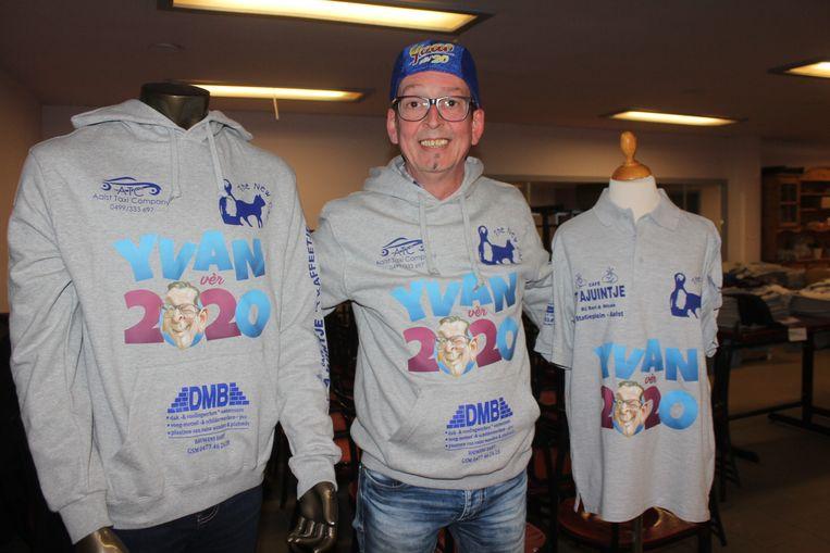 Yvan De Boitselier is een telg uit een echte 'carnavalsdynastie'.