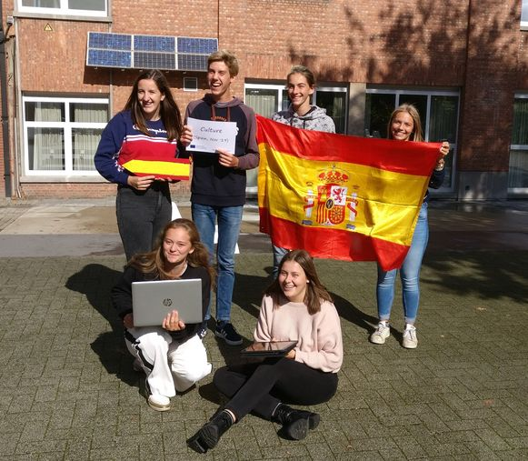 Een team van 17 leerlingen neemt deel aan het project 'GamifIEd' - de eerste groep reist over enkele weken al naar Spanje.