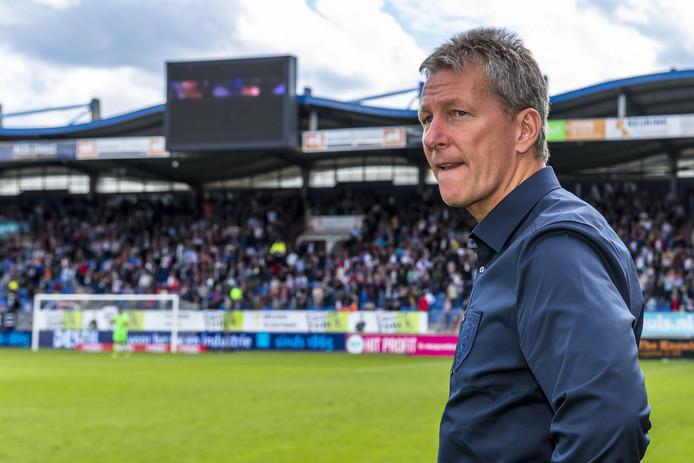 Frank Wormuth is teleurgesteld na de forse nederlaag bij Willem II.