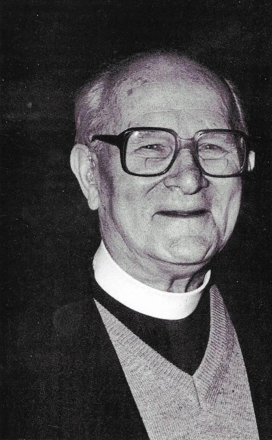 Pastoor Louis Holtus op latere leeftijd.
