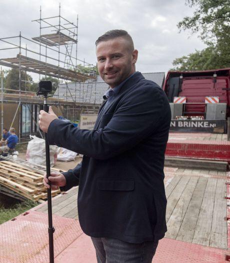 Organisator Rudolf de Leeuw is terug in Twente, maar aan festivals begint hij niet meer