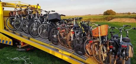 Man uit Haarsteeg vindt zijn gejatte tractor terug ... plus 23 gestolen fietsen