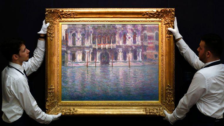 'Le Palais Contarini' door Claude Monet. Beeld AP