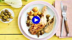 Een ovenschotel met kip barst van de smaak dankzij deze drie ingrediënten