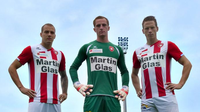 Martin Glas sponsort de FC Oss-selectie het afgelopen seizoen