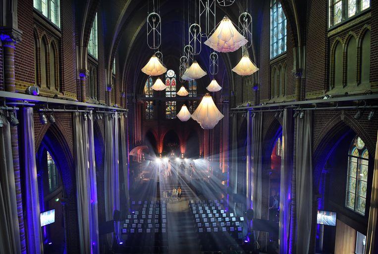 Het kerkgebouw is omgedoopt tot Domusdela en is nu een  ceremonieruimte voor bruiloften en begrafenissen.  Beeld null