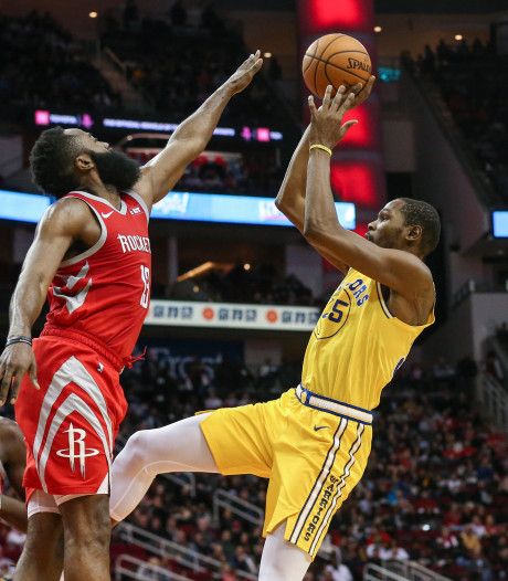 Houston Rockets bezorgt Golden State Warriors vierde nederlaag