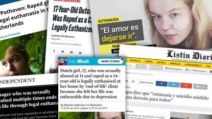 Zelfgekozen dood van Nederlandse Noa (17) is wereldnieuws, buitenlandse media suggereren dat ze actieve euthanasie kreeg