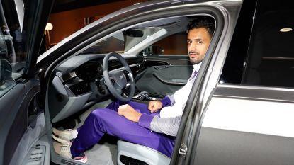 Veel bekijks bij Audi: Anderlecht-spelers gaan blitse bolides spotten op het Autosalon